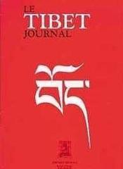 Tibet Journal - Couverture - Format classique