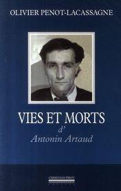 Vies et morts d'Antonin Artaud - Intérieur - Format classique