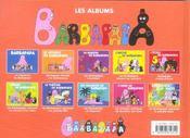 Barbapapa ; Le Voyage De Barbapapa - 4ème de couverture - Format classique