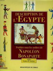 Description De L'Egypte - Couverture - Format classique