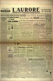 Aurore (L') N°530 du 02/05/1946 - Couverture - Format classique
