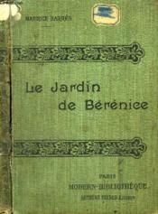 Le Jardin De Berenice. - Couverture - Format classique