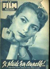 Film Complet N° 580 - Je Plaide Non Coupable !... - Couverture - Format classique