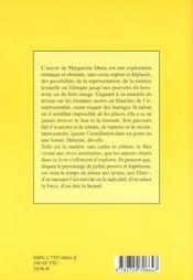 Lire Duras - 4ème de couverture - Format classique