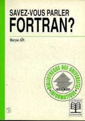 Savez-Vous Parler Fortran ? - Couverture - Format classique