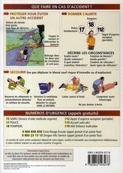 Petit Guide T.220 ; Premiers Secours - 4ème de couverture - Format classique