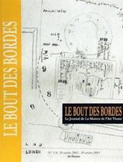 Le Bout Des Bordes - Couverture - Format classique