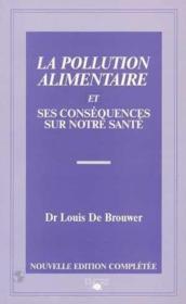 La pollution alimentaire - Couverture - Format classique