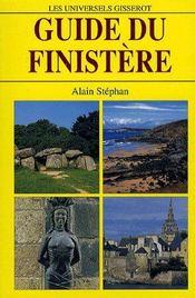Guide du finistère - Couverture - Format classique