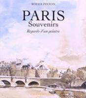 Paris - Souvenirs - Couverture - Format classique