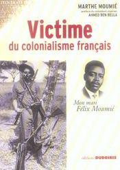 Victime du colonialisme francais mon mari felix moumie - Intérieur - Format classique