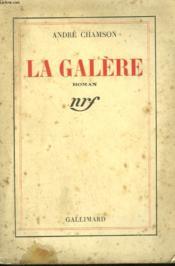 La Galere. - Couverture - Format classique