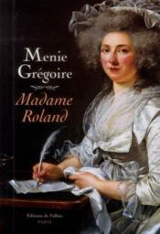 Madame Roland - Couverture - Format classique