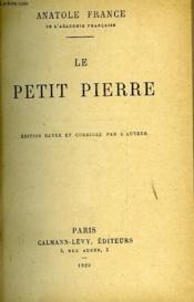Le Petit Pierre - Couverture - Format classique