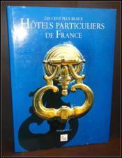 Hotels particuliers de france - Couverture - Format classique