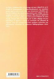 Histoire du XXe siècle en fiches - 4ème de couverture - Format classique