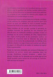 Preparation Aux Epreuves Domaine Sanitaire Et Social Educateur Specialise De Jeunes Enfants - 4ème de couverture - Format classique