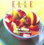 Fruits, 50 recettes - Intérieur - Format classique