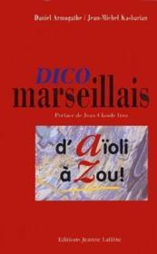 Dico Marseillais - Couverture - Format classique