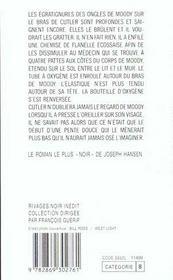 Pente Douce - 4ème de couverture - Format classique