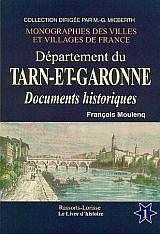 Tarn-et-Garonne t.1 - Couverture - Format classique