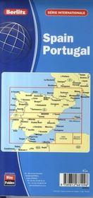 Espagne, portugal - 4ème de couverture - Format classique