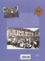La Seconde Guerre Mondiale En France - 4ème de couverture - Format classique