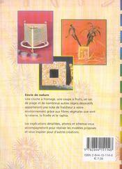 Rabane, ficelle et raphia - 4ème de couverture - Format classique