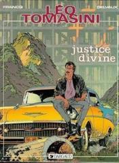 Leo Tomasini T.1 ; Justice Divine - Couverture - Format classique