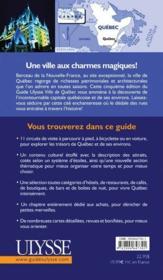 Ville de québec (5e édition) - Couverture - Format classique