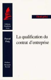 Qualification du contrat - Couverture - Format classique
