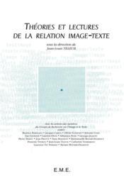 Théories et lectures de la relation image-texte - Couverture - Format classique