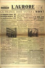 Aurore (L') N°533 du 05/05/1946 - Couverture - Format classique