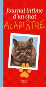 Journal intime d'un chat acariâtre - Couverture - Format classique