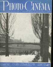 PHOTO CINEMA - DOCUMENTATION - TECHNIQUE - INFORMATIONS - 29e ANNEE - N°567 - Couverture - Format classique