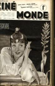 CINEMONDE - 8e ANNEE - N° 330 - GROS PLAN: MICHEL SIMON - CAROLE LOMBARD - ANN VICHERS... - Couverture - Format classique