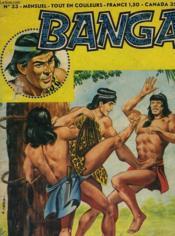 Banga - N°33 - Couverture - Format classique