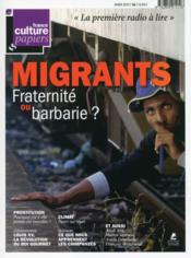 Vente livre :  France Culture Papiers N.16 ; Migrants  - Collectif