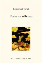 Plaise au tribunal - Couverture - Format classique