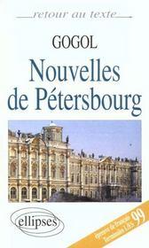 Nouvelles de Pétersbourg ; Terminales L/ES ; bac 99 - Intérieur - Format classique