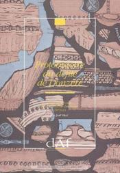 Protohistoire du défilé de Donzère - Couverture - Format classique