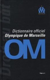 Le dictionnaire officiel de l'Olympique de Marseille - Intérieur - Format classique