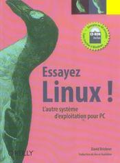 Essayez Linux - Intérieur - Format classique
