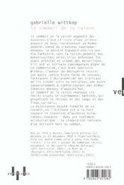 Le Sommeil De La Raison - 4ème de couverture - Format classique