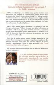 Les Orphelins Du Mal - 4ème de couverture - Format classique