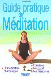 Guide Pratique De Meditation - Intérieur - Format classique