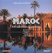 Maroc. 100 Adresses De Charme - Intérieur - Format classique