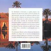 Maroc. 100 Adresses De Charme - 4ème de couverture - Format classique