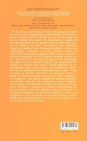 Dur D Enseigner En Zep - 4ème de couverture - Format classique