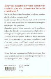 Faucon hurlant - 4ème de couverture - Format classique